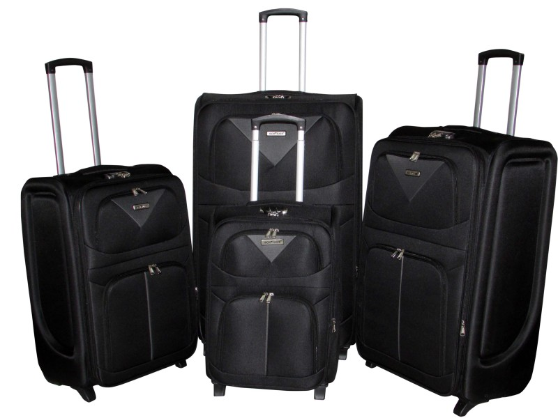 Victory – 4 PC Travel Luggage Soft Trolley